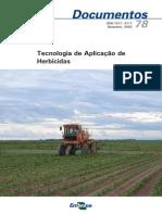 Tecnologia de Aplicação de Herbicidas