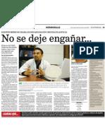 Entrevista Expreso dic 2009
