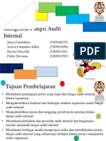 Mengelola Fungsi Audit Internal