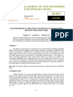 Electrochemical Treatment Technology in Biodigester Effluent Treatment Bde
