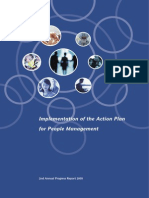 Implementation of Action Plan for People Management 2nd Annual Progress ReportE