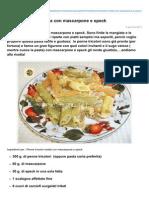 Blog.giallozafferano.it-penne Tricolori Ricetta Con Mascarpone e Speck