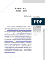 4 - SOBRINHO, José Dias. Avaliação Da Educação Superior - Avanços e Riscos.