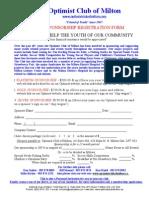 Sponsor Registration Form 2010