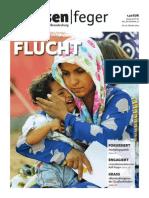 Ausgabe 20/2014 des strassenfeger - Flucht