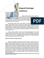 PA Biografi Santiago Calatrava