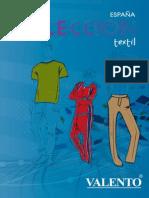 Catálogo Textil Valento