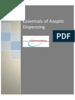 Aseptic Dispensing SOPs