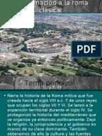 Aproximación a la Roma Clásica.