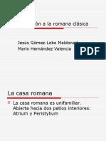 Aproximación a la Roma Clásica I.