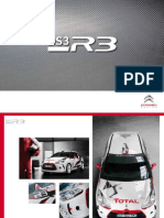 Citroen DS3 Rally Car Brochure
