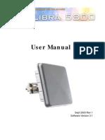 Libra5800 Manual Rev 1(Manual)