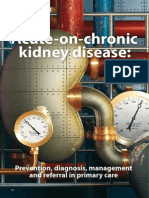 Acute on Chronic Kidney Disease