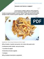 Blog.giallozafferano.it-penne Al Sugo Di Melanzane Con Tonno e Capperi