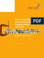 How Voluntary and Community Organisations Can Help Transform Public Services