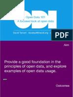 Open Data 101