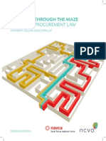 Pathways Through the Maze - A Guide to Procurement Law
