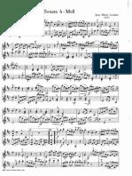 Leclair duo violin