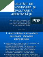4.a.asertivitate - Teorie Si Aplicatie