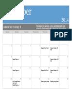 ah8 - nov  calendar 2014