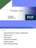 The System z World
