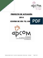 Proyecto Actuación Centro de Día El Copo Contrato 2015