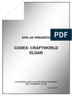 Codex Craft World Eldar