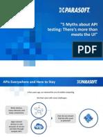 API testing myths debunked