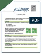 Recassonne - A Carcassonne Variant