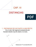 Distancias Geometría Descriptiva