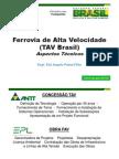 TAV Brasil - Trem de Alta Velocidade - Aspectos Técnicos