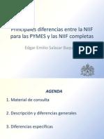 Diferencias NIIF y NIIF Para Pymes