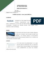 10 Redes Sociales y Una Característica