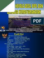 TUPOKSI KEPALA DESA, BPD, DAN LEMBAGA KEMASYARAKATAN (KAB.BUOL, 2011).ppt