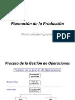 Planeacion de La Produccion Agregada