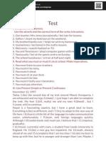 Test IX
