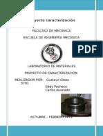 Ing de Materiales-Caracterización de un metal