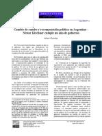 Cambio de Rumbo y Recomposición Política en Argentina