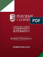 Gobernabilidad - 3er Informe de Gobierno