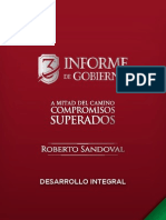 Desarrollo Integral - 3er Informe de Gobierno