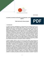 La Política Económica de Kirchner en La Argentina