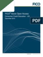 FICO Score Open Access