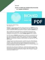 Biomed Industries Press Release