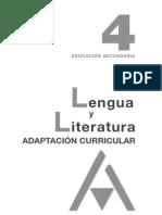 Adaptacion Curri 4 Lengua