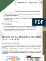 TÉCNICA DE LA REDUCCIÓN SELECTIVA NO CATALÍTICA (SNCR)
