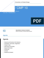 UNFCCC. Presentation to the Diplomatic Missions. 7 Nov. 2014