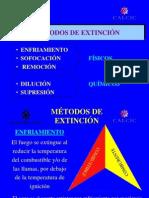 2 =  extinción