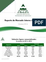 Reporte Mercado Automotor-Octubre2014