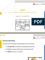 ABAP 30 Module-Introduction V3
