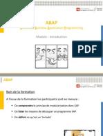 ABAP 30 Module-Introduction V3